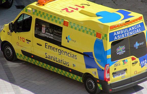 Herido un motorista en un accidente en Navalmoral (Ávila)