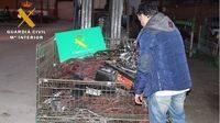 Detenidos por robar 400 kilos de cable de cobre en La Moraña