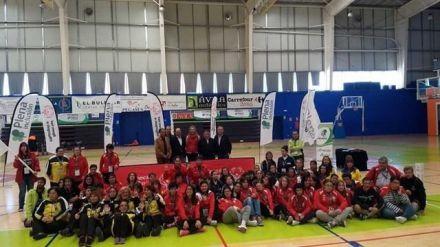 La infanta Elena preside un torneo de baloncesto de Special Olympics en Ávila