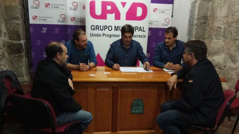 UPyD Ávila respalda a los trabajadores de Avilaves y denuncia los cambios sufridos en sus condiciones laborales