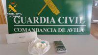 Desmantelado un punto de venta de cocaína en Mombeltrán y detenidas dos personas