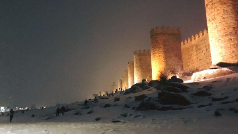El Ayuntamiento de Ávila decreta el nivel 2 por temporal de nieve