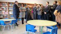 Rey inaugura el nuevo CEIP de La Adrada (Ávila) y destaca el aumento de la inversión en obra nueva este año