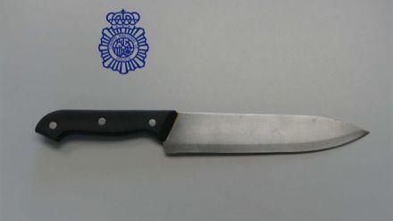 Detenido en Ávila el autor de un atraco con un cuchillo de grandes dimensiones
