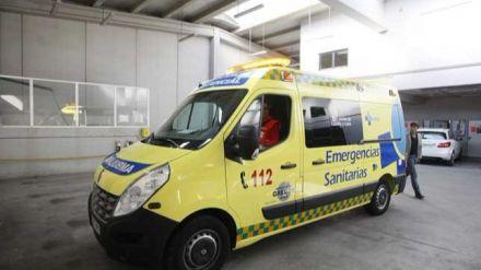 Dos heridos en un atropello en Ávila capital