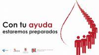 'Siempre preparados', campaña del CHEMCyL y de la Federación de Hermandades para el fomento de la donación en marzo