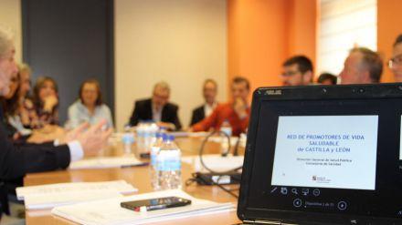 La red de promotores de vida saludable de Castilla y León se apoya en la colaboración municipal