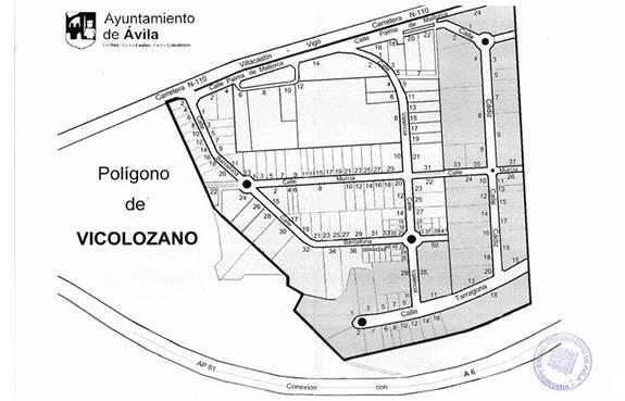 ¿Cuál es el grado de cumplimiento en los acuerdos alcanzados para la mejora del Polígono de Vicolozano?