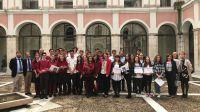 Educación recibe a los estudiantes del Colegio 'Montessori' de Salamanca