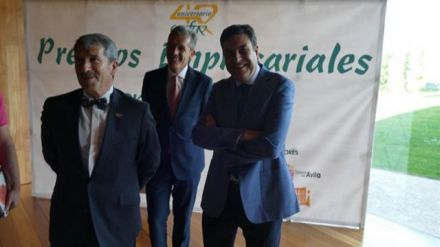 Fernández Carriedo destaca a las empresas premiadas por la patronal abulense