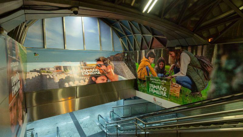 La Junta lanza una campaña promocional turística de gran impacto en Madrid