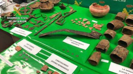 Recuperadas 257 piezas arqueológicas