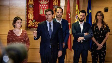 Rivera: 'Madrid va a ser el adalid de la transparencia y de la lucha contra la corrupción'