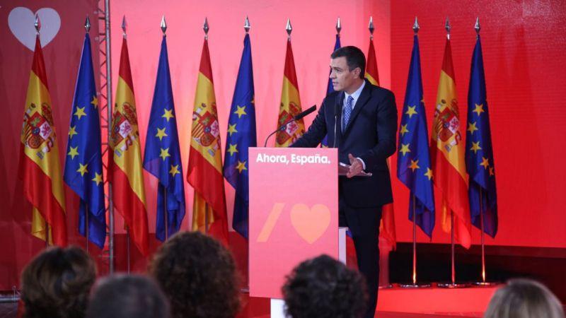 Pedro Sánchez avanza el programa del PSOE para las elecciones del 10-N
