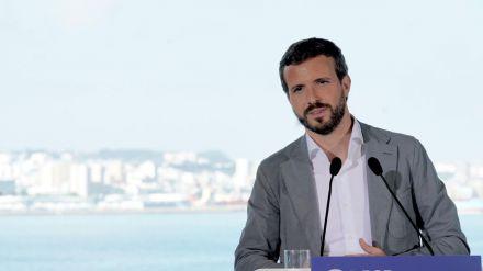 Casado sobre Sánchez: 'No hagamos política con las políticas de Estado'