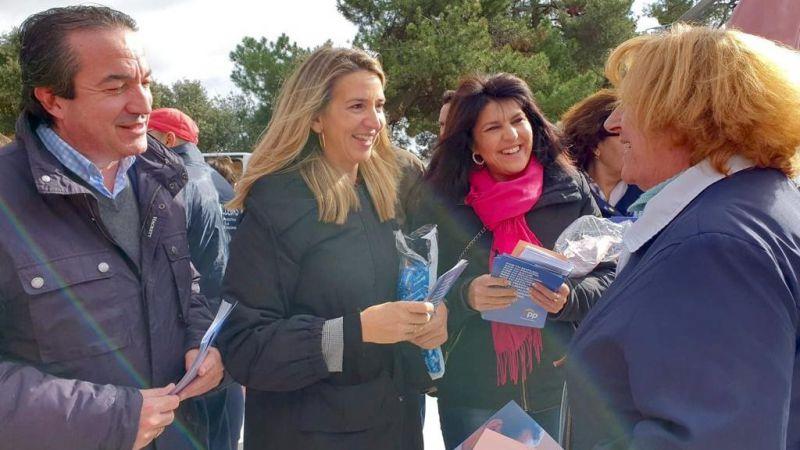Alicia García: 'El sistema público de pensiones estará garantizado con el PP'