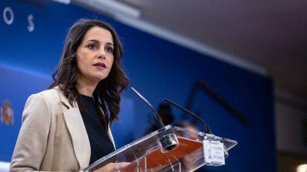 Arrimadas: 'La 'vía 221' que propone Ciudadanos (Cs) da estabilidad a toda la legislatura'