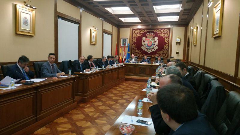 El Pleno Provincial cierra diciembre con una declaración institucional contra la corrupción a instancias de Cs
