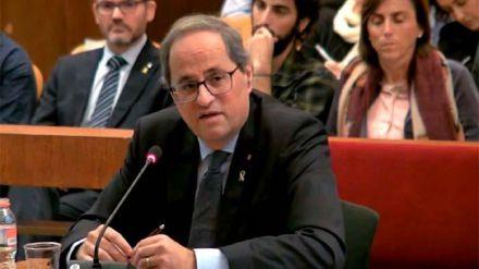 El Supremo mantiene la inhabilitación de Torra como diputado por unanimidad