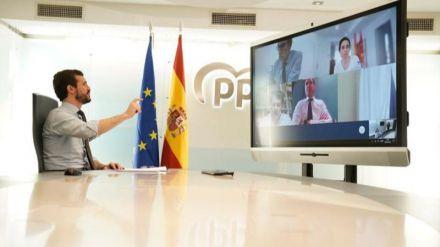 El PP pide 'eficacia' al Gobierno para garantizar material y 'test masivos'
