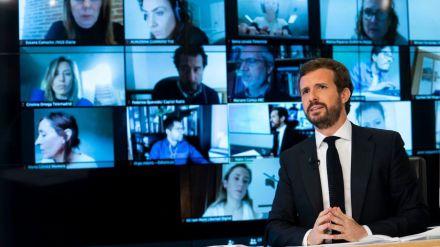 Casado lamenta la 'deslealtad' de Sánchez y anuncia no apoyará sus decretos económicos