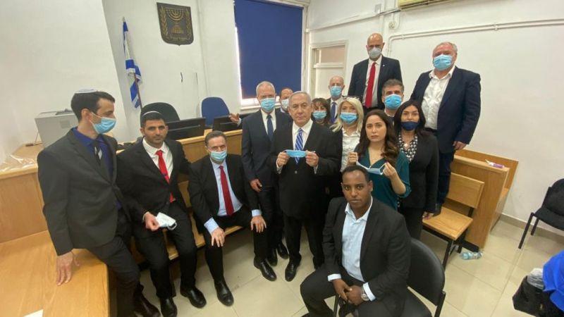 Comenzó el juicio, el gran show contra... Benjamín Netanyahu