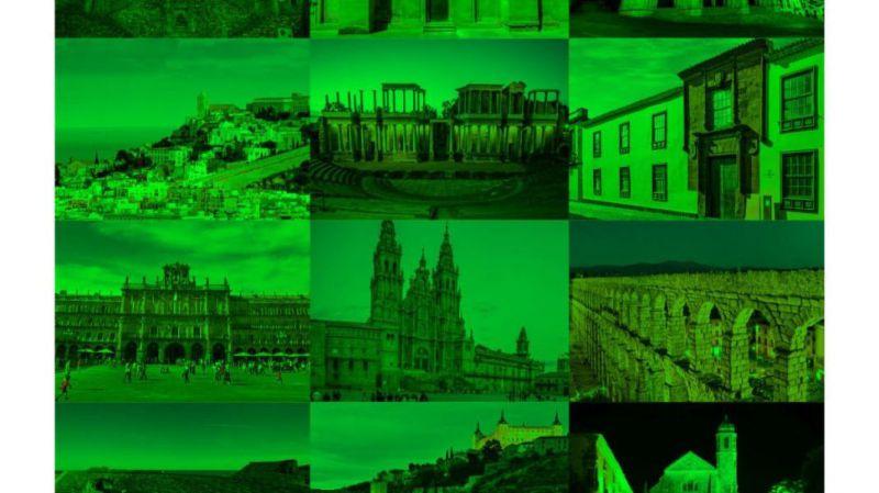Ávila se viste de verde por el Día Mundial de la ELA