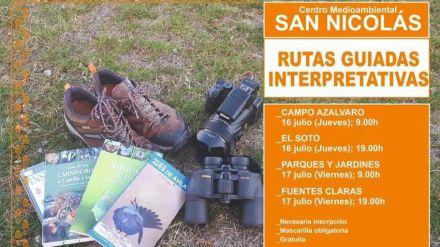 Rutas interpretativas y charlas sobre la naturaleza en Ávila