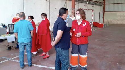 Agradecimiento a profesionales y voluntarios por la extinción del incendio de San Pedro del Arroyo