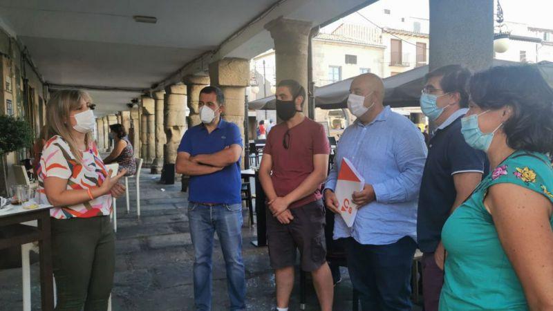 Ciudadanos visita a las distintas agrupaciones locales de la provincia de Ávila