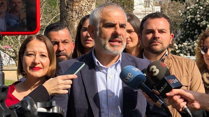 El líder de Ciudadanos en Cataluña clama contra la