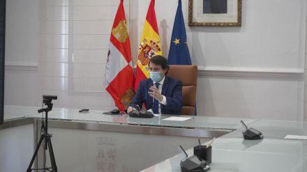 Mañueco prevé un alivio de las medidas en la mayor parte del territorio la próxima semana