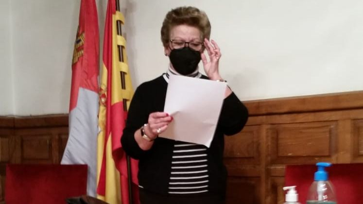 Eufemia Crespo es la nueva concejala de Ciudadanos en el Ayuntamiento de El Hornillo