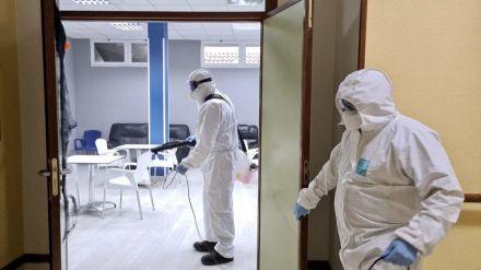 La semana que viene se higienizarán los 18 centros de salud del medio rural abulense