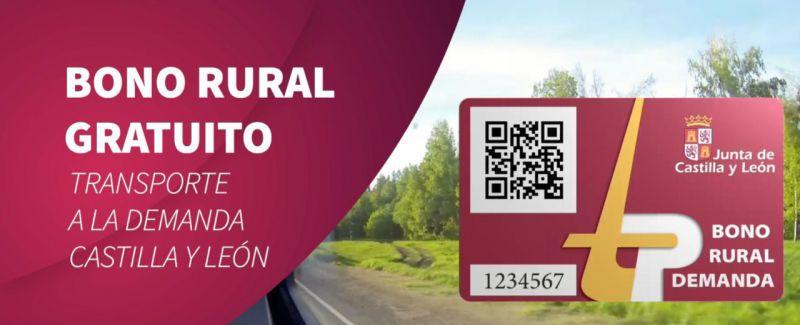 Bono Rural: El uso del transporte a la demanda será gratis e incorporará la utilización de nuevas tecnologías