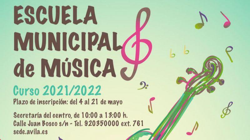 Se abre el plazo de solicitud de plaza en la Escuela Municipal de Música de Ávila