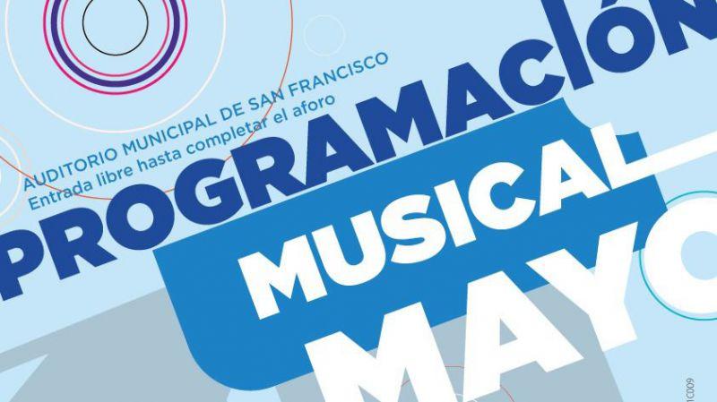 Programación musical de Ávila para el mes de mayo