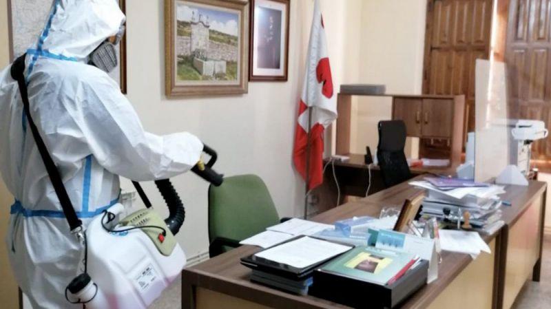 Semana de desinfección en Peguerinos y Papatrigo