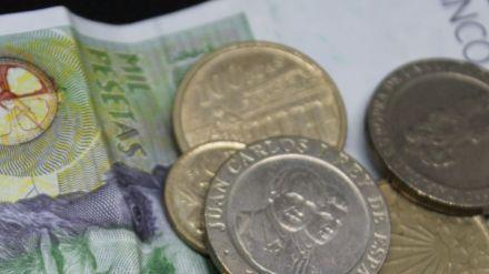 El canje de pesetas por euros se podrá realizar hasta el 30 de junio