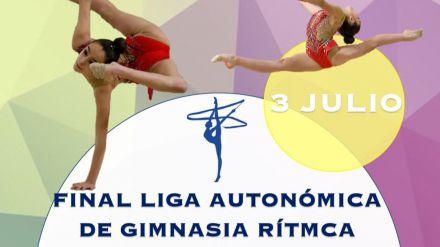 La fase final de la liga autonómica de gimnasia rítmica se celebra en Ávila