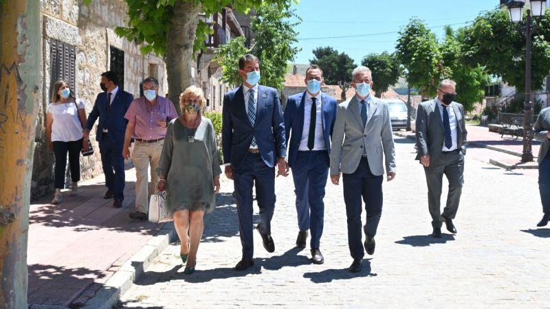 Ávila recibe más de 12 millones de euros a través de los diferentes fondos de la Junta de Castilla y León