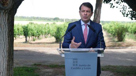 Mañueco defiende que los fondos europeos no pueden ser un 'talón de cheques'