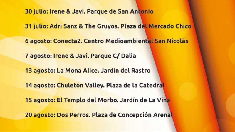 Verano cultural en Ávila: Irene & Javi en el Parque de San Antonio