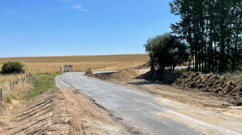 Dan comienzo las obras de acondicionamiento de la AV-P-503 entre Solosancho y Baterna