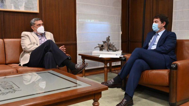 Por Ávila se reúne con Mañueco antes de la Conferencia de Presidentes