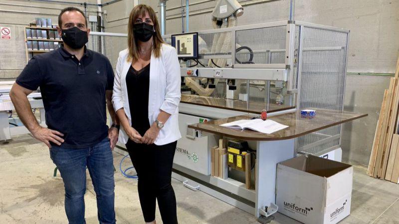 La Diputación muestra la eficacia de las ayudas al mantenimiento del tejido industrial de la provincia