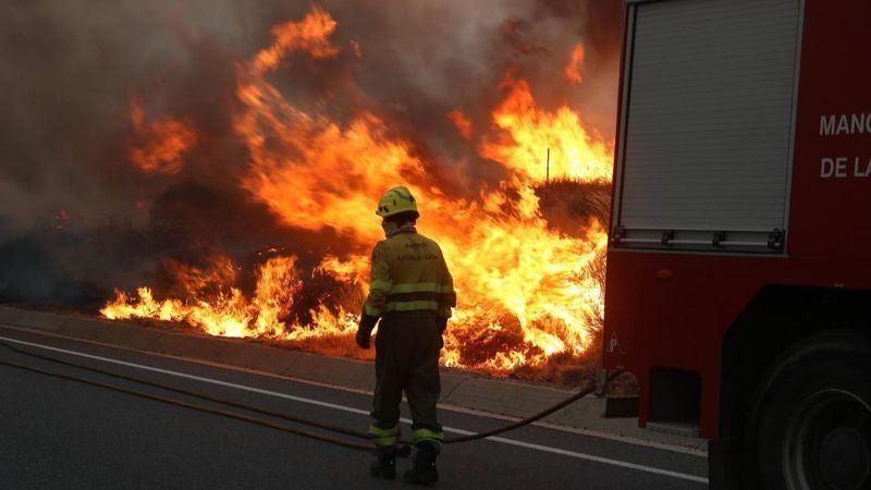 Por Ávila pide la declaración de zona catastrófica para el área afectada por el incendio de Navalacruz