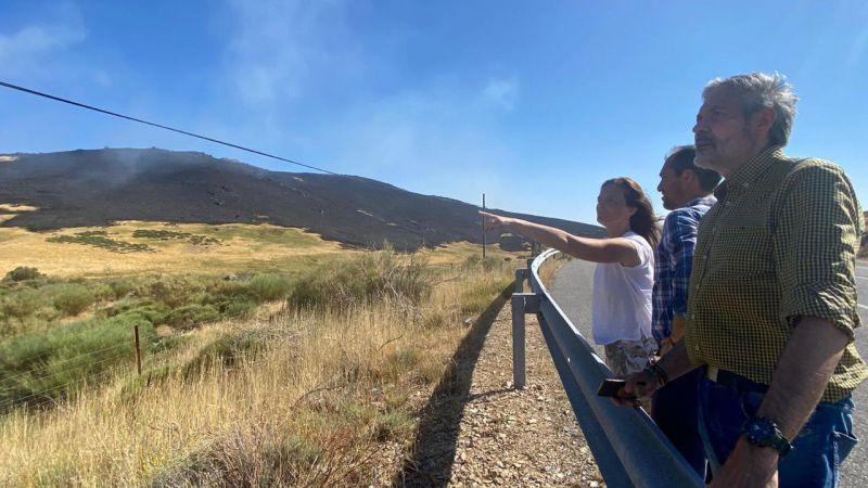 VOX pregunta al Gobierno por las ayudas a los ganaderos y agricultores afectados por el incendio de Ávila
