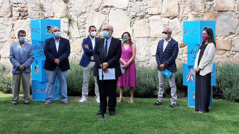 Comienza la IX edición del Festival Internacional de Circo de Castilla y León Cir&Co en Ávila