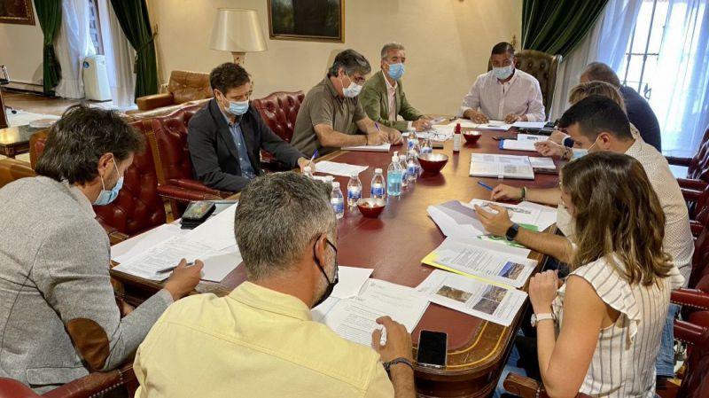 La Diputación y la Junta se coordinan para garantizar el suministro de agua a los municipios afectados por el fuego
